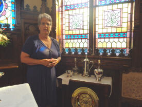 Jana Guild President in Chancel